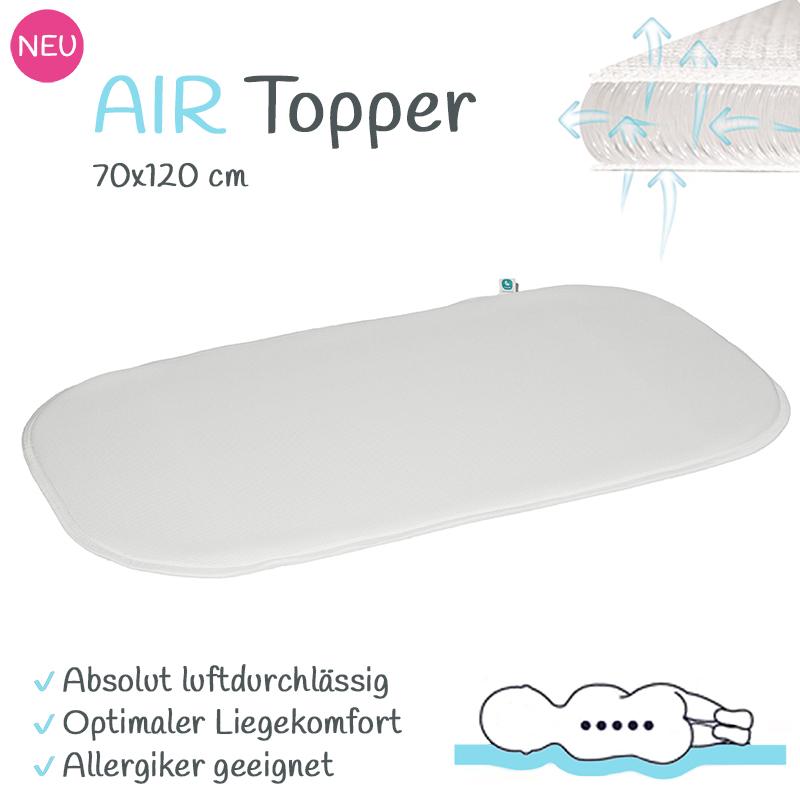 tweeto AIR-Topper 70x120 - Matratzentopper