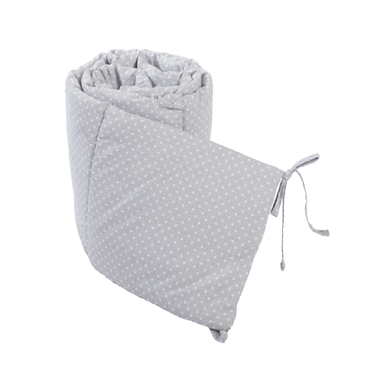 Babybett Nestchen - Grau Gepunktet
