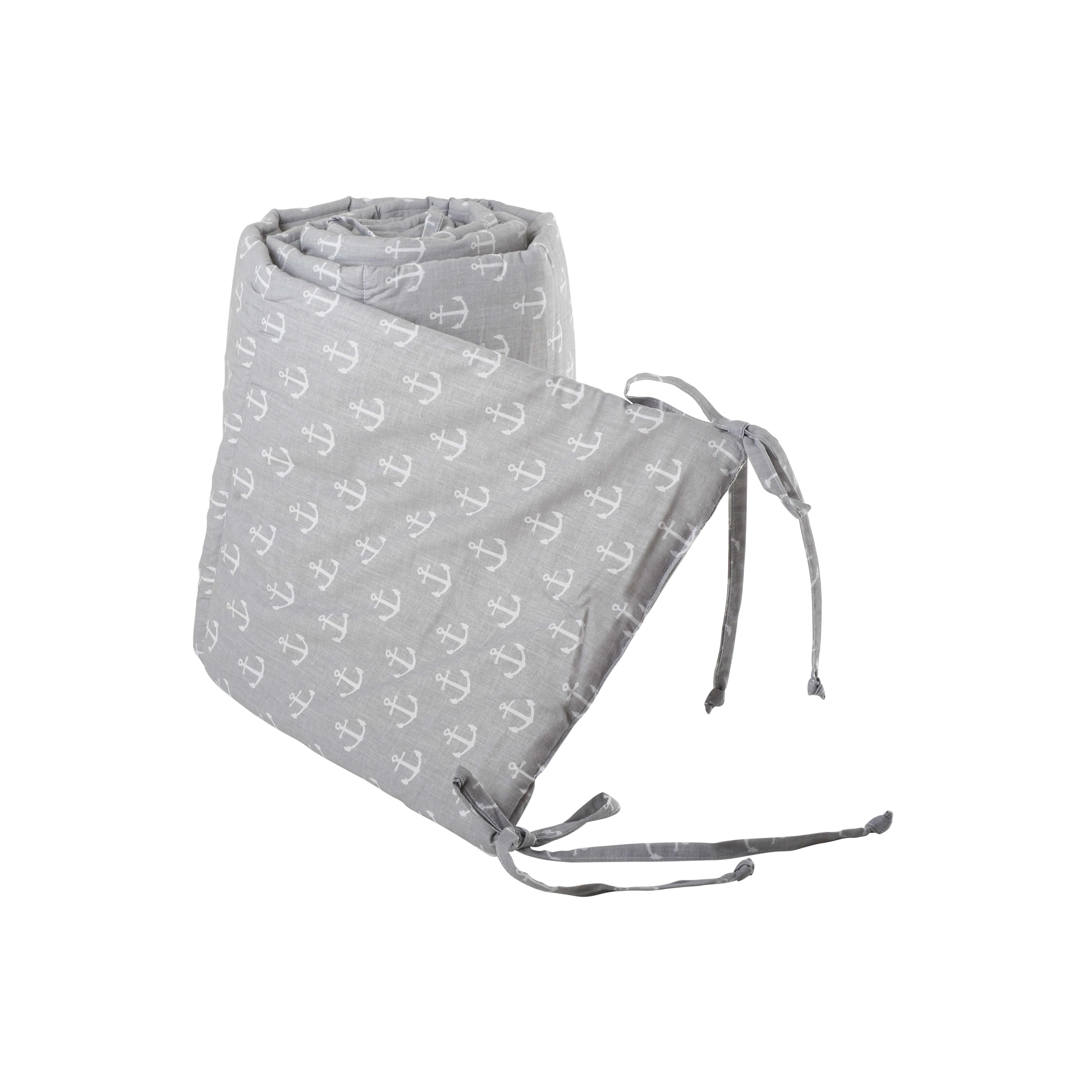 Babybett Nestchen - Grau Anker