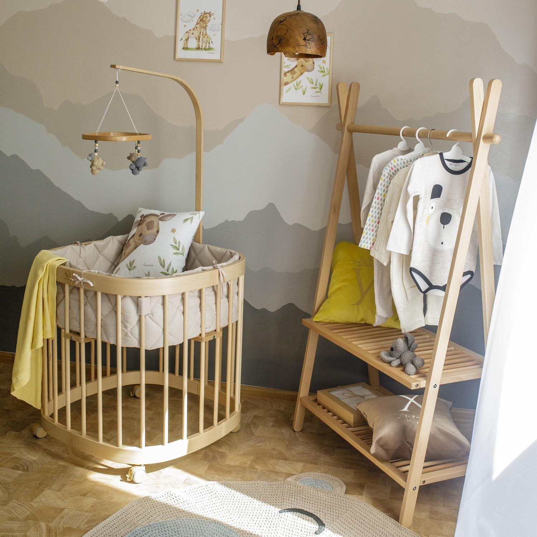 tweeto Babybett Nestchen - RIO - cappuccino